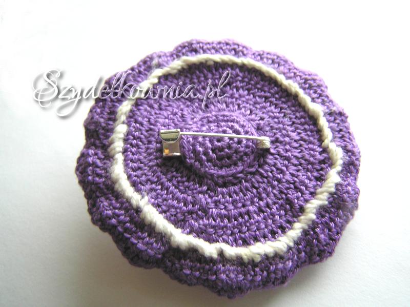 fioletowo-kremowa tył