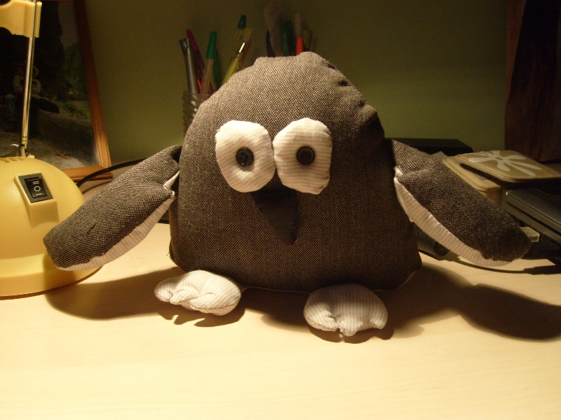 sówko-pingwin