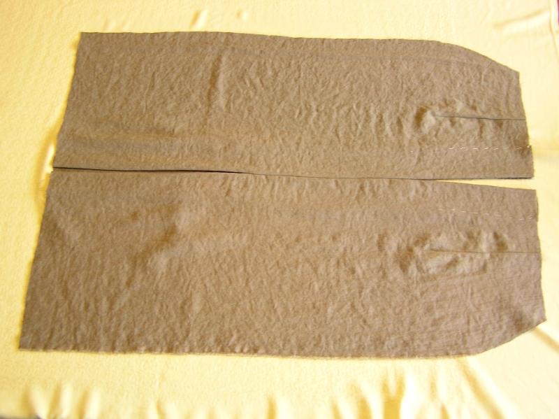 spódnica tył lewa strona