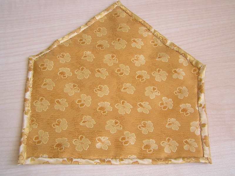 poszetka złota 2