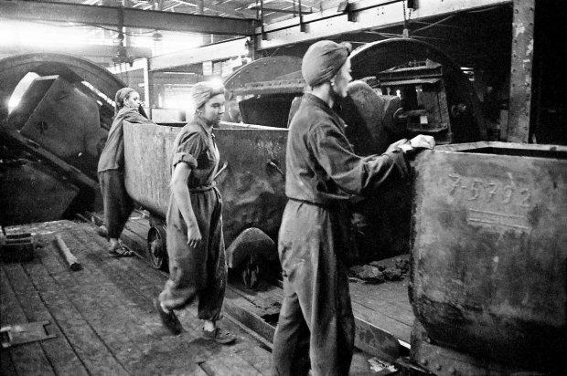 górniczki przy pracy