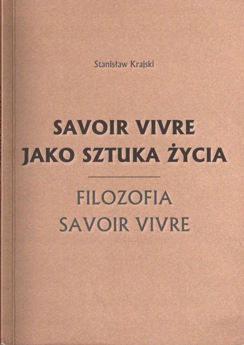 okładka filozofia savoir vivre