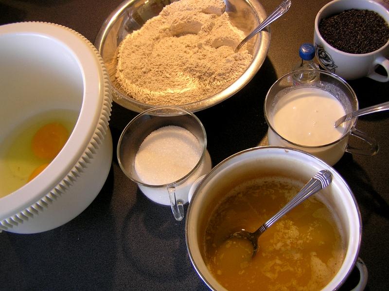 ingrediencje muffinki pieguski