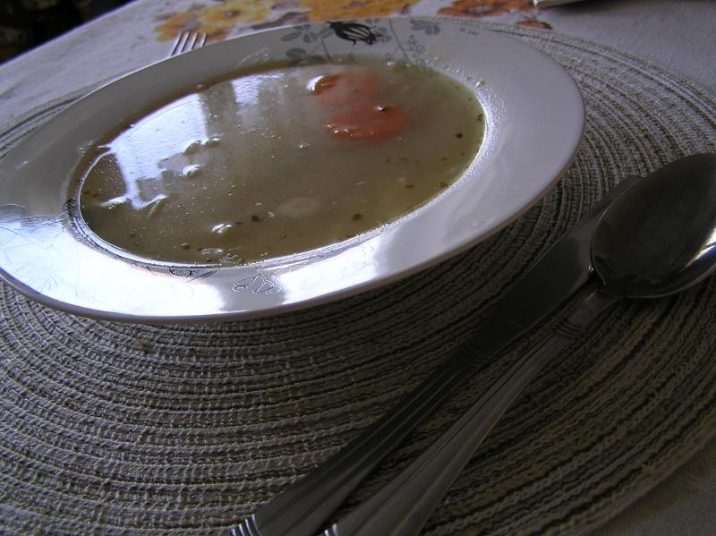 zupka z fasolką zasmażka